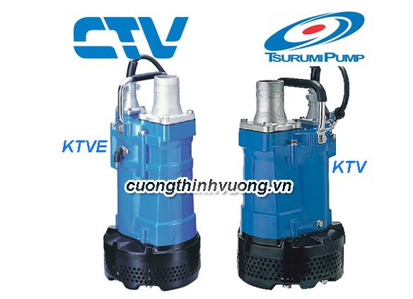 Máy bơm nước thải Tsurumi KTV/KTVE