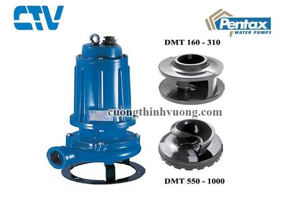 Cánh máy bơm chìm nước thải Pentax DMT410 3kw