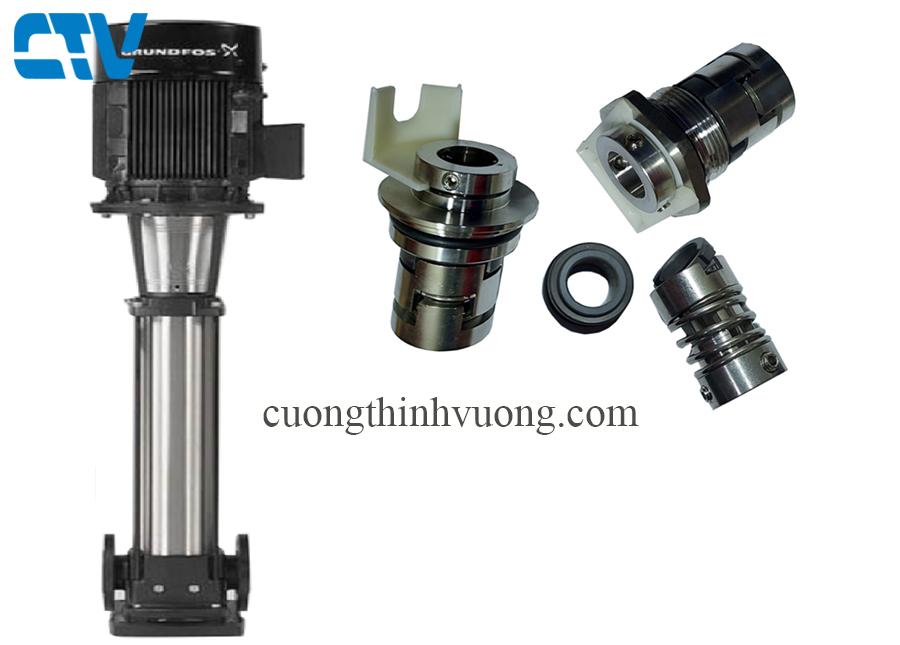 Phớt trục đứng, phớt bơm công nghiệp Model GrundFos CR 32, 45, 64, 90