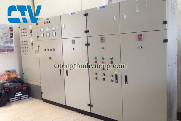 Nhận báo giá, thiết kế, lắp đặt tủ điện điều khiển máy bơm