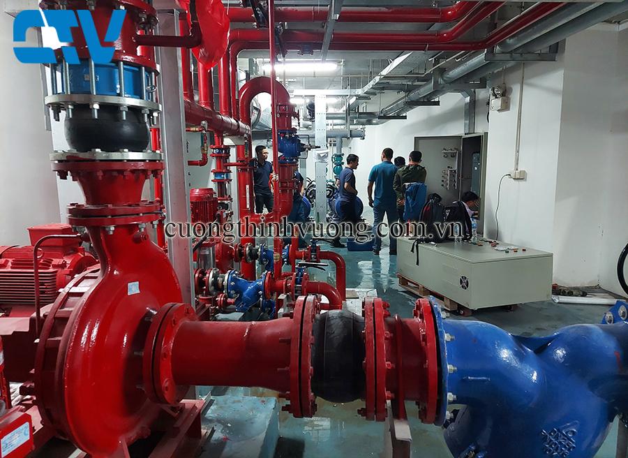 Trung tâm lắp đặt tủ điện điều khiển và bảo vệ hệ thống máy bơm PCCC