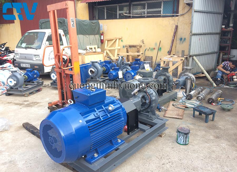 Dịch vụ cho thuê máy bơm công nghiệp, máy bơm đầu rời tại Cường Thịnh Vương